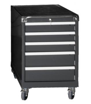Armoire tiroirs sur roues